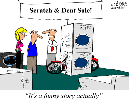Scratch And Dent Cartoon